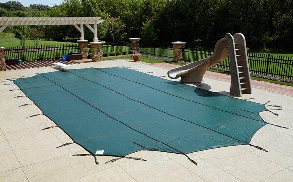 Батутное накрытие для бассейна