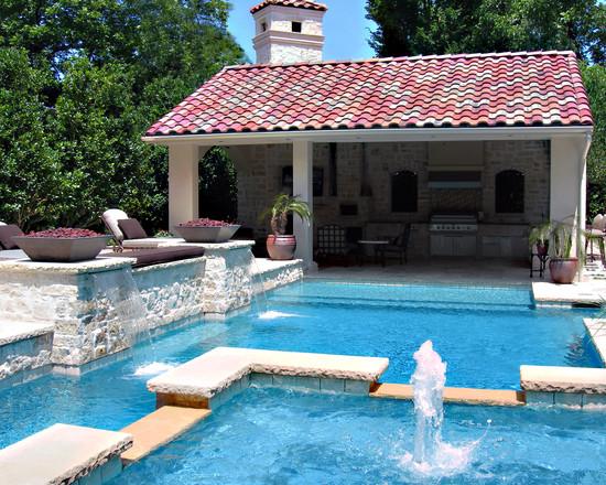 Строительство фонтана