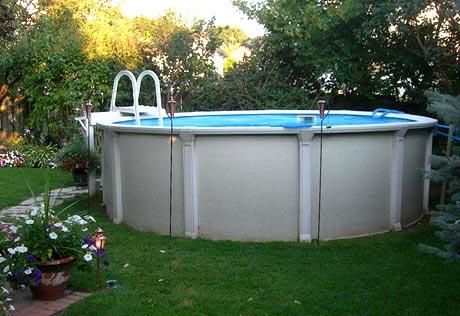 Мобильный бассейн для дачи