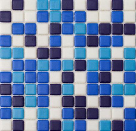 Бетонный Мозаика переливной