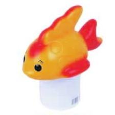 Плавающий дозатор химии Золотая Рыбка D=13 см Boda (Китай)