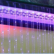 Фонтан водный занавес